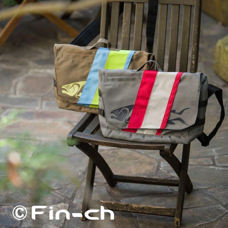 画像1:  Tortuga  Messenger bag(トルトガ メッセンジャーバッグ)チャコールxスカイ (1)