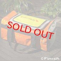 Tortuga Travelling bag(トルトガトラベリングバッグ)オレンジxカーキ