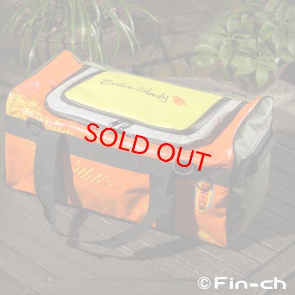 画像1: Tortuga Travelling bag(トルトガトラベリングバッグ)オレンジxカーキ