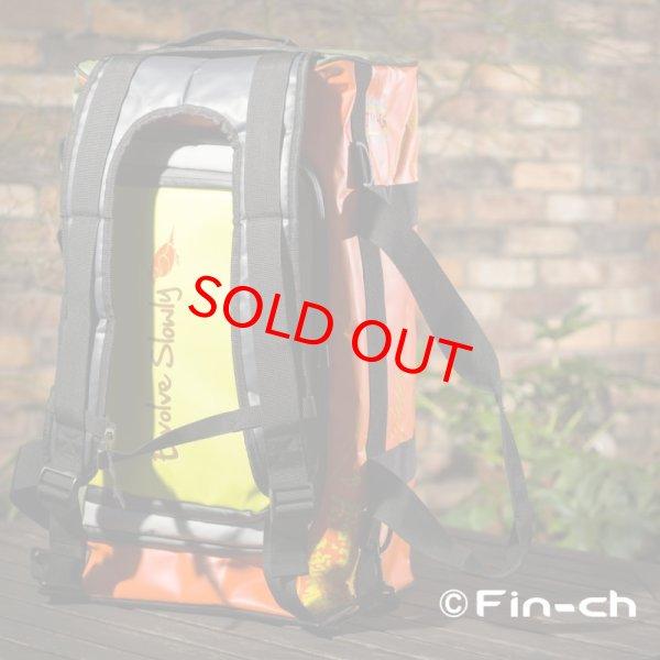 画像2: Tortuga Travelling bag(トルトガトラベリングバッグ)オレンジxカーキ