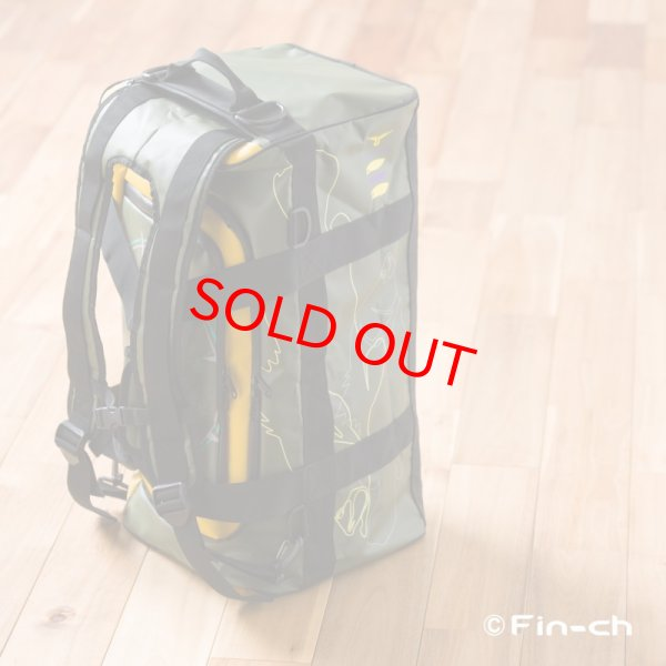 画像3: Tortuga Travelling bag(トルトガトラベリングバッグ)マスタードxカーキ