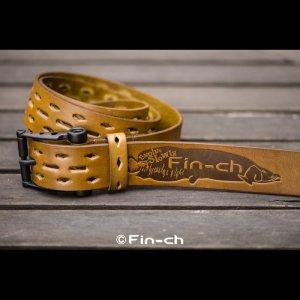画像: Santiago Leather Belt(サンチャゴ レザーベルト)カーキXブラック