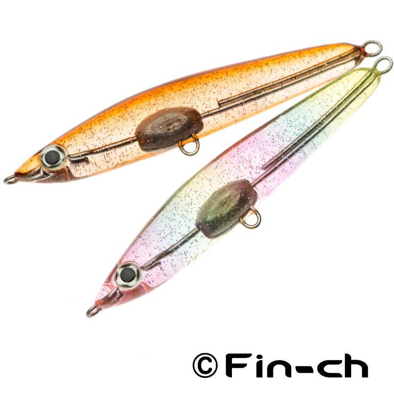 画像1: 尺八ミノー8cm Hassaku x Fin-ch (1)