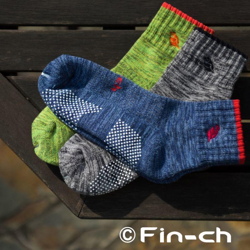 画像1: Fin-ch Socks(鳥靴下) (1)