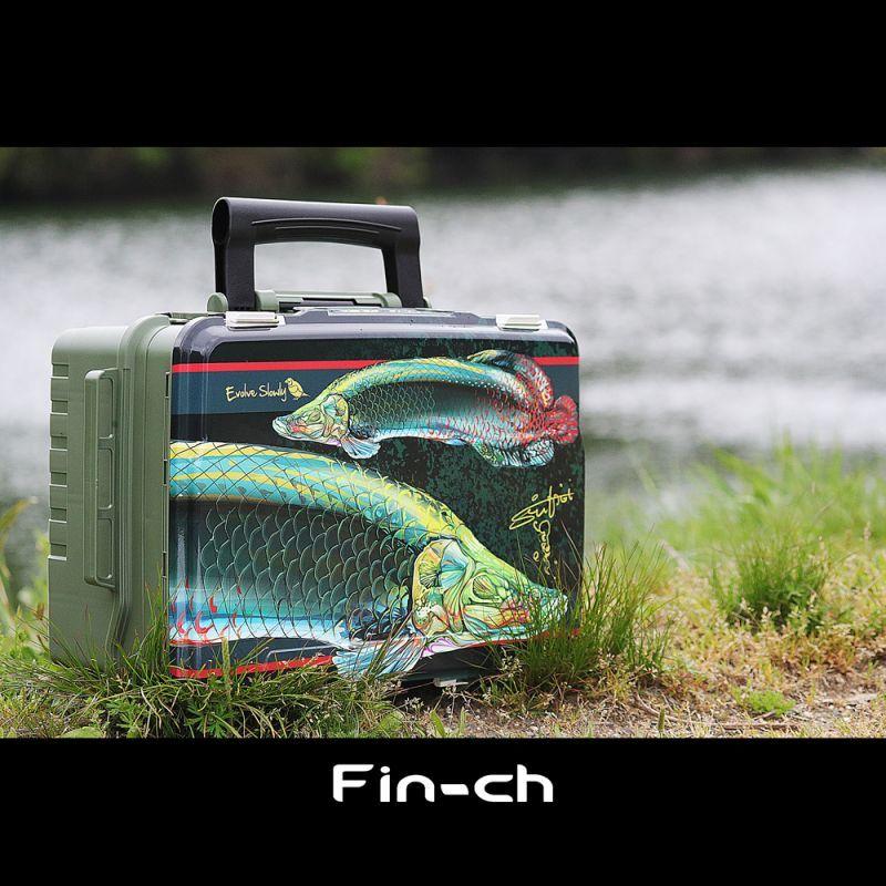 画像1: TACKLE BOX WRAPPING Fin-ch x 吉田周平 (1)