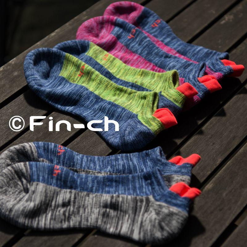 画像1: Fin-ch Socks summer(鳥靴下・夏)7月初旬頃発送予定 (1)